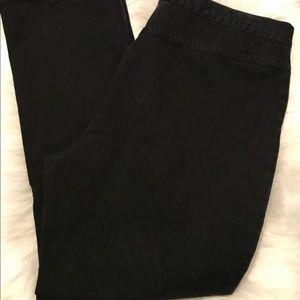 Lauren Jeans Company Ralph Lauren Black Size 16
